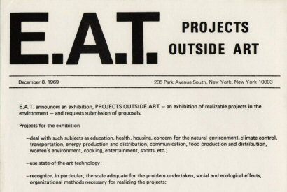 Billy Klüver, E.A.T. - Archive of published documents