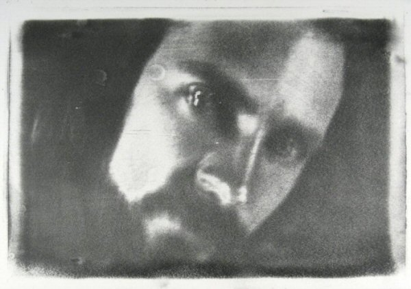 "[Process: Haloid Xerox / Sonia Landy Sheridan], c.1970s, 1 sheet: impression on paper ; 22 X 28 cm. Print made using the copier ""Haloid"" by Xerox."