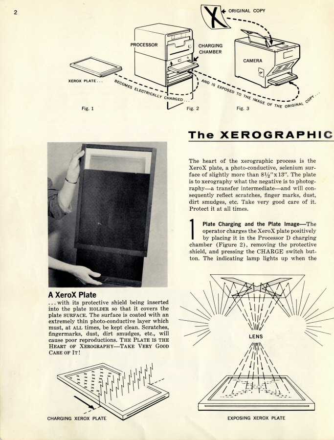 Haloid Xerox copying equipment