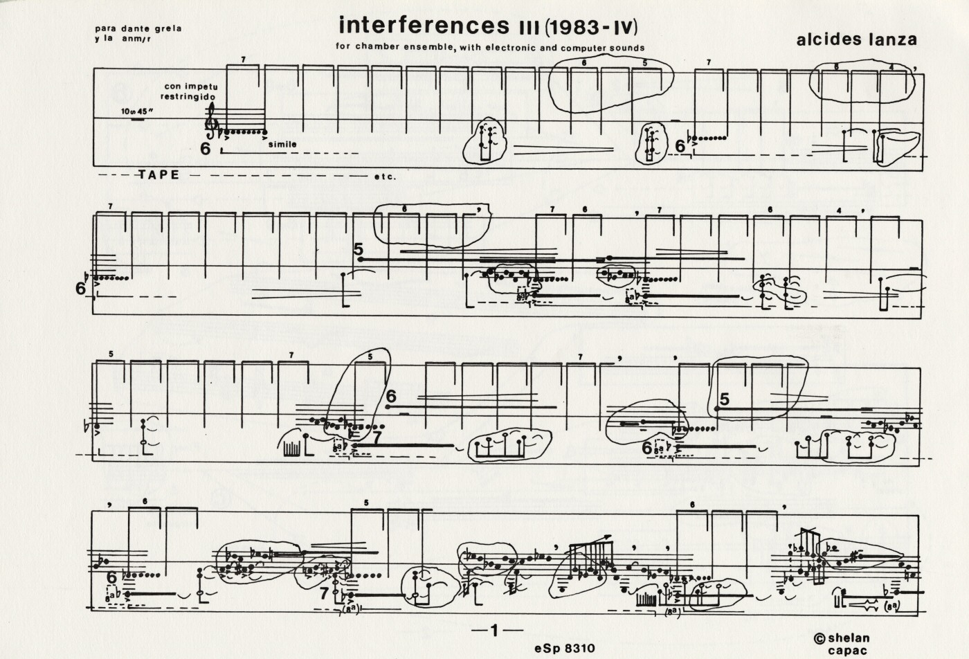 interferences III [1983-IV], 1983