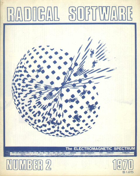 Radical Software, volume I, numéro 2, 1970