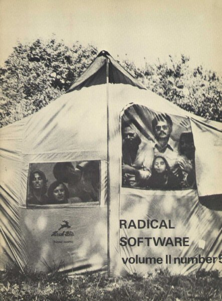Radical Software, volume II, numéro 5, 1973