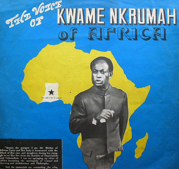 Pochette du disque The Voice Of Kwame Nkrumah of Africa (1974)
