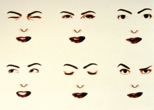 Lynn Hershman, Agent Ruby Mood Swing Diagram, 2002