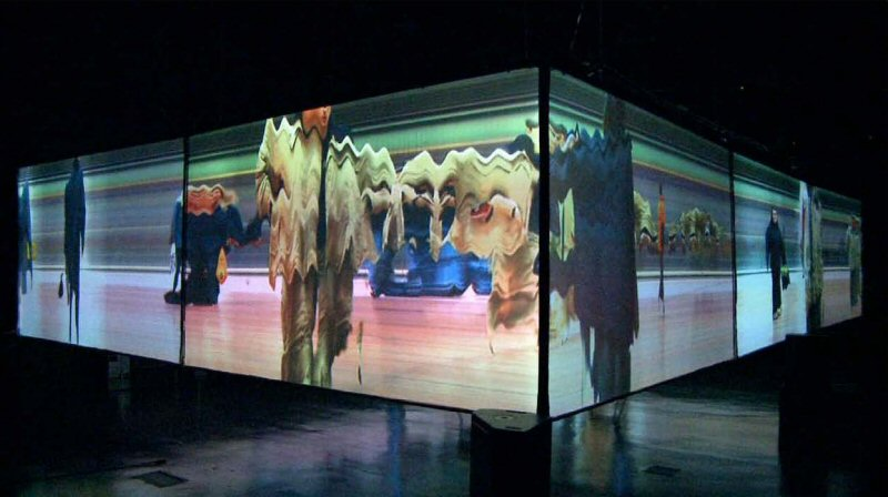 CineChamber, performance by Biosphere and Egbert Mittelstaedt (2011)