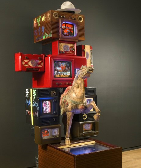 Nam June Paik, Royal Canadian Mounted Police (1989)