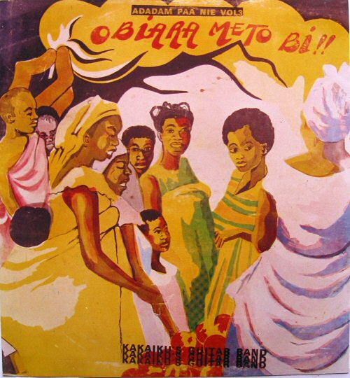 Ghana's Highlife Music Collection : Ghanaian music album sleeves