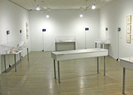 Exhibition view, SBC Gallery, Montreal (October 2-December 4, 2010)