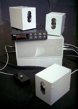 The hardware and the 8x8 camera used in 1983-85