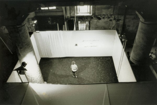 Installation view at the Venice Biennale (Italy), 1986.